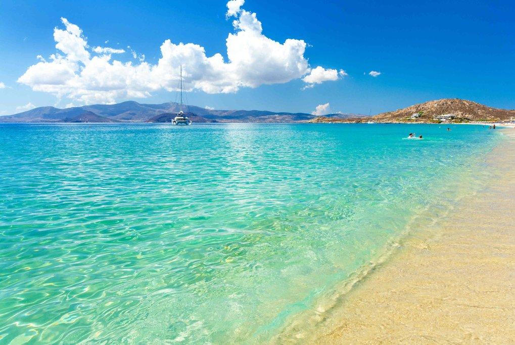 Agios Prokopios Beach in Naxos