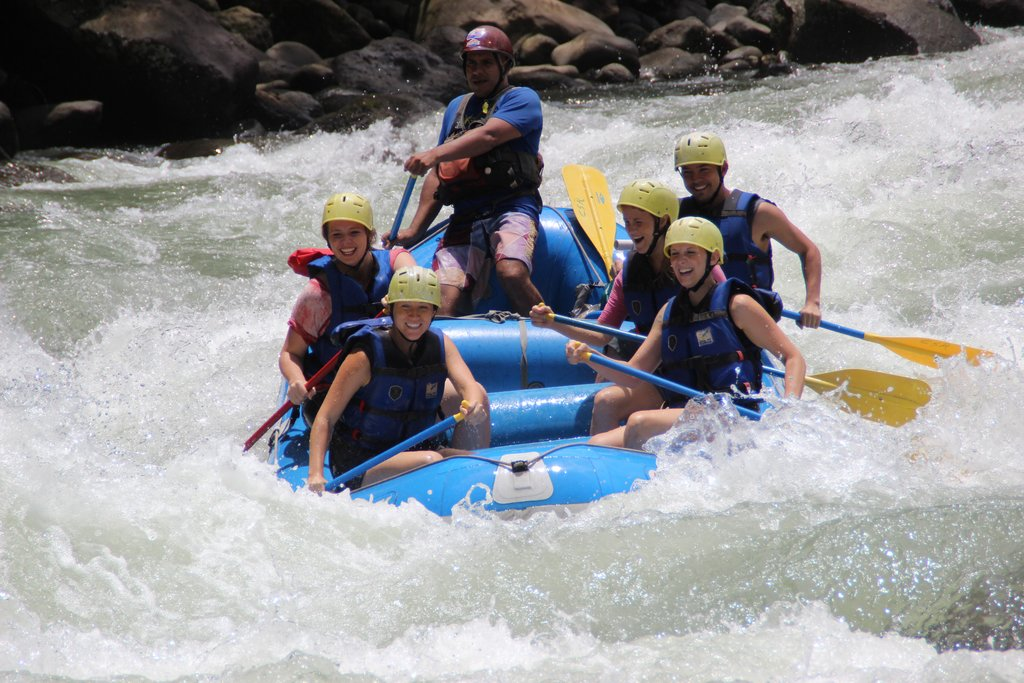 Whitewater Rafting on the Pacuare