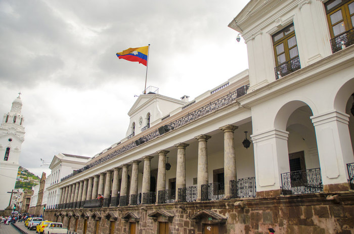 The Goverment Building of Carondelet Palace