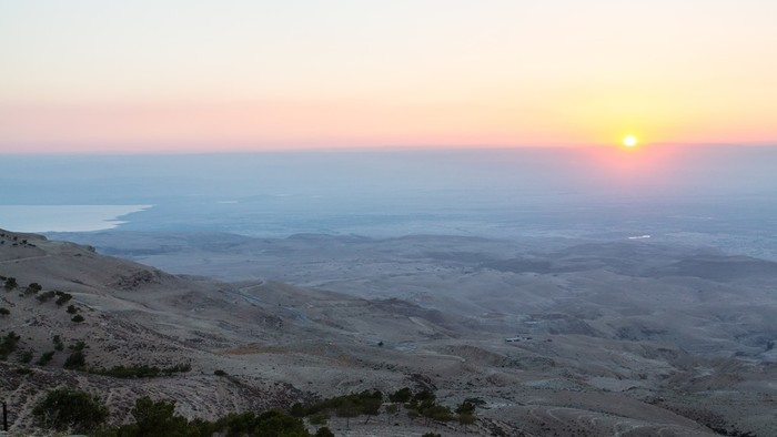 Mount Nebo, the place where Moses was granted a view of the Promised Land