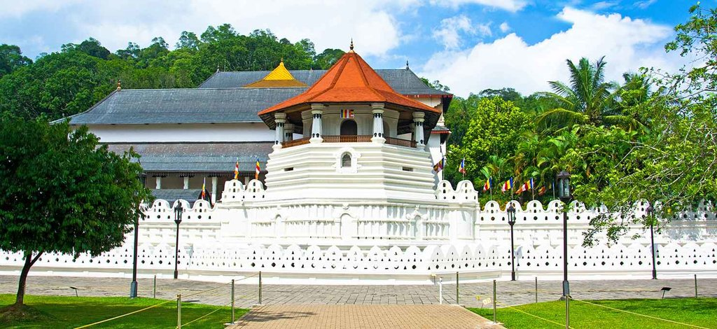 The Temple of the Sacred Tooth Relic in Kandy