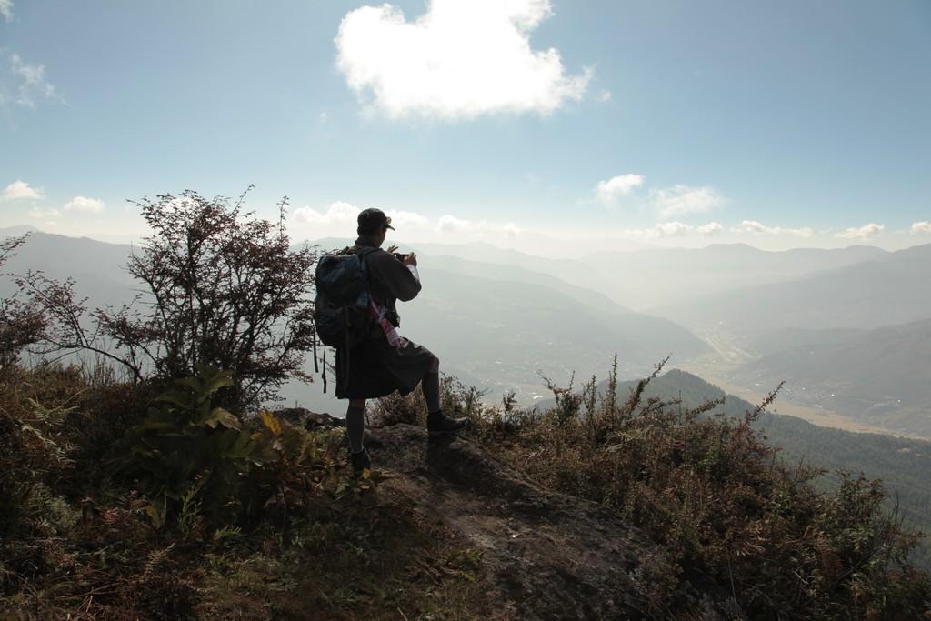 View over Paro Valley