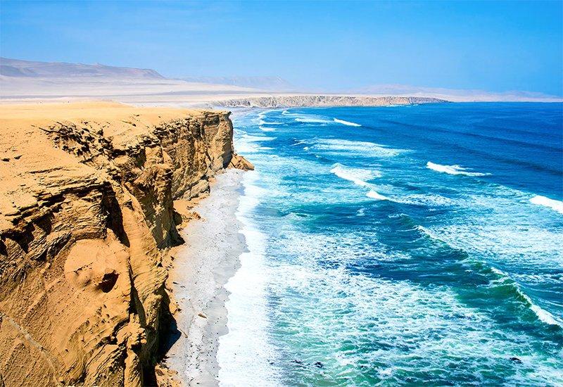 Peru's dramatic desert coastline