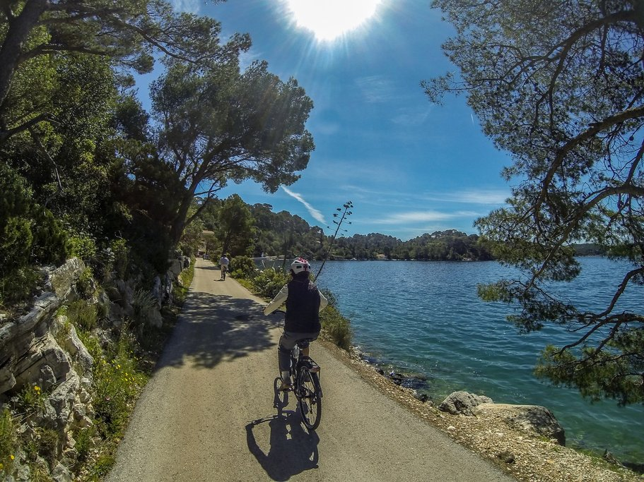 Cycling in Mljet National Park