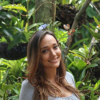 Travel operator Katherine Caicedo