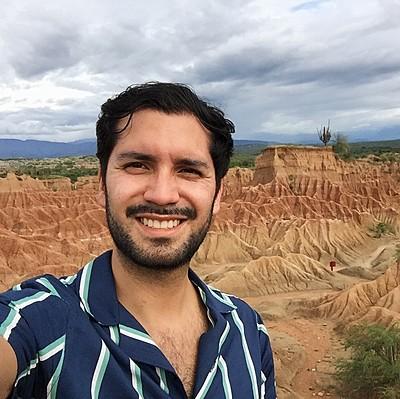Travel specialist Nicolás Díaz