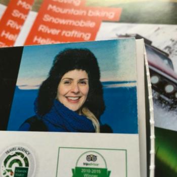 Travel operator Kristín Sævarsdóttir