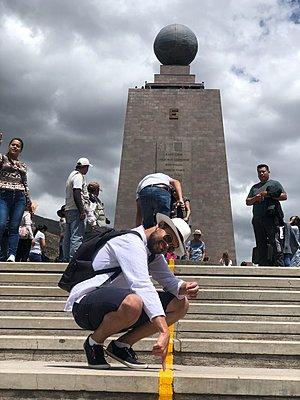 Travel specialist Gabor Csizmadia