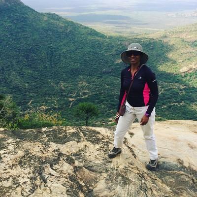 Travel specialist Eunice Koome