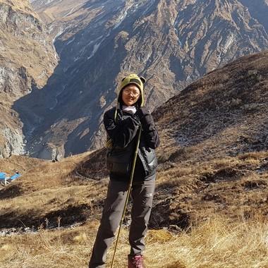 Travel specialist Kripa Sunuwar