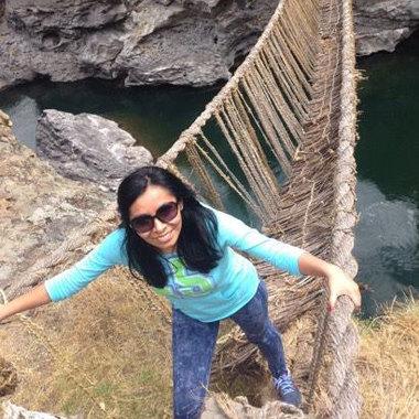 Travel operator Evelyn Casallo