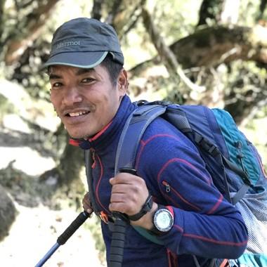 Travel specialist Ngima Dorji Sherpa