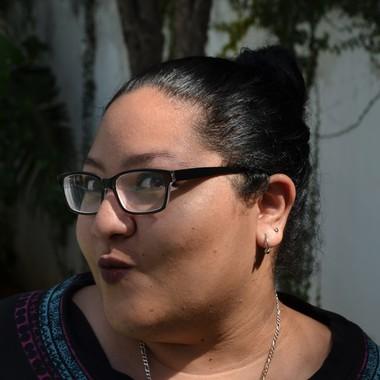 Travel operator Haydée Sanchez