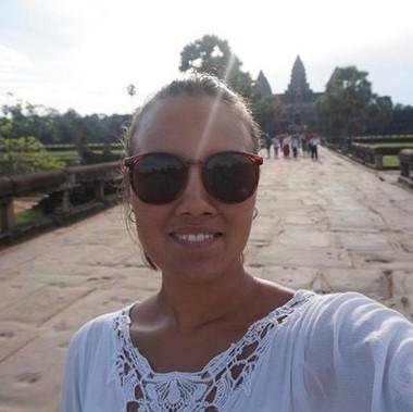Travel operator Sahra Løkkeberg