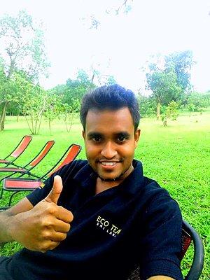 Travel specialist Sajith Kularathna