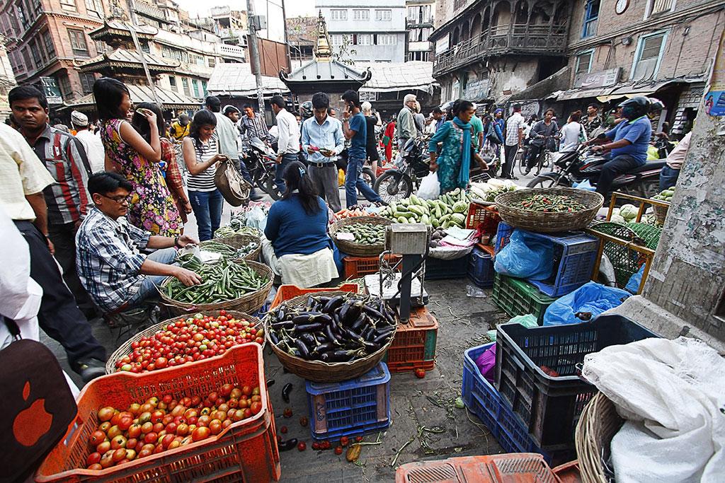 Asan market, Kathmandu