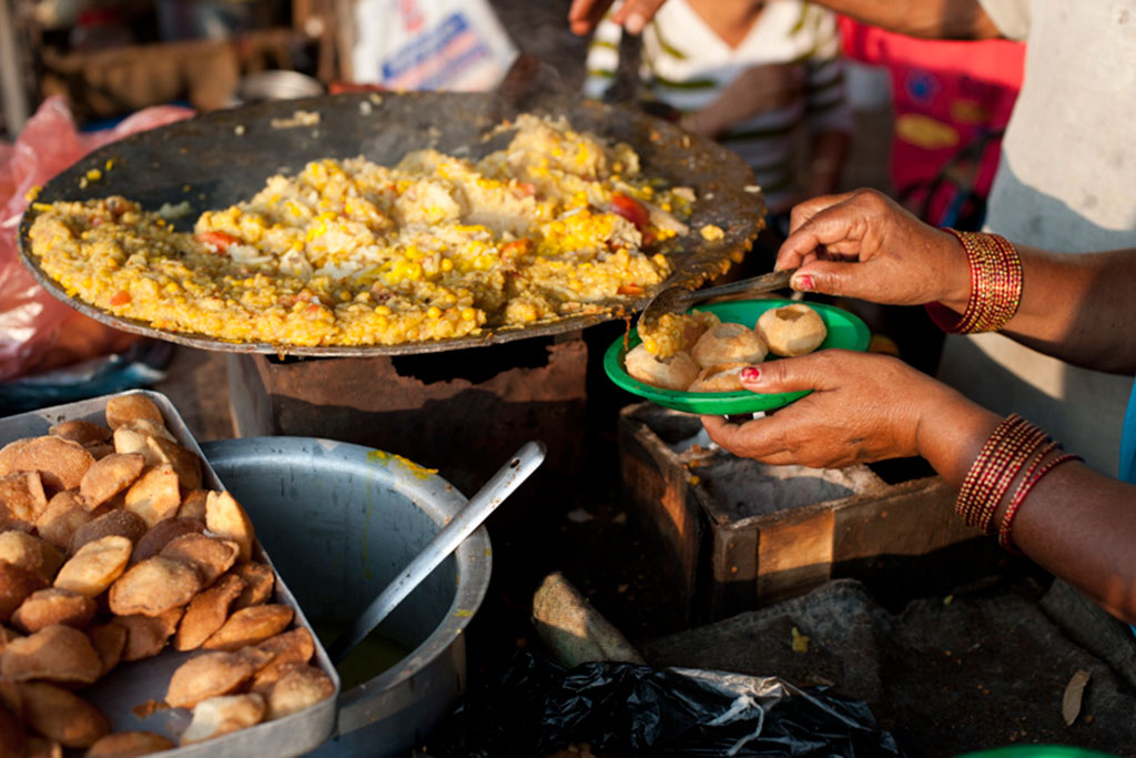 Street food in Surkhet, Nepal