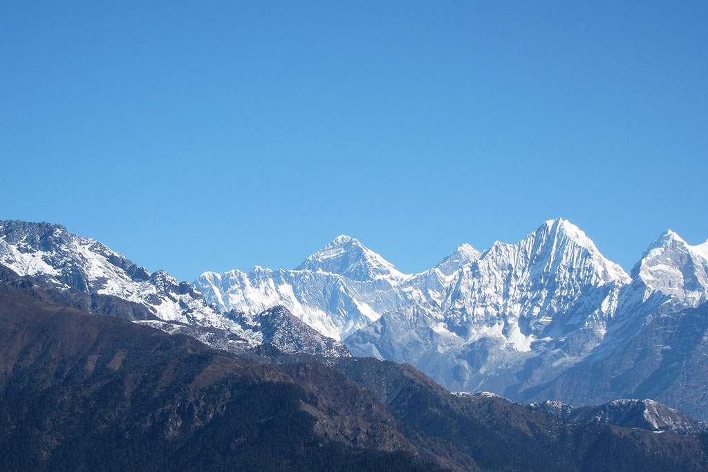 View of Mount Everest from Pikey Peak