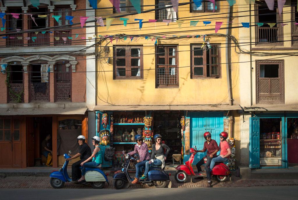 Vespa Valley tours, Kathmandu