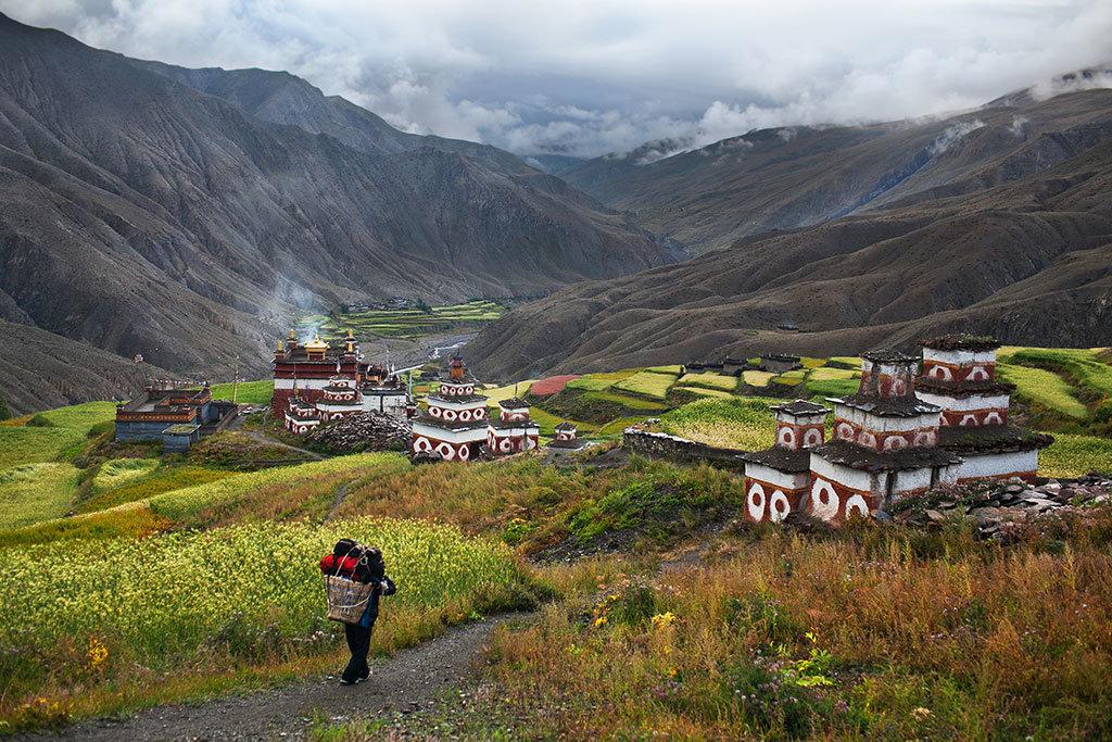 Saldang village