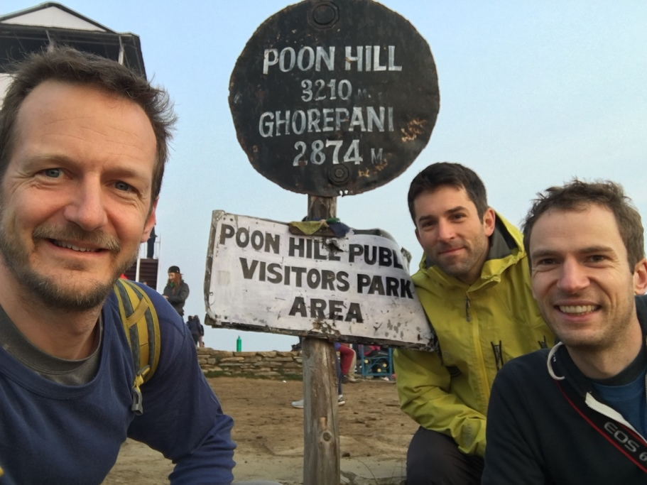 Selfie at Poon Hill