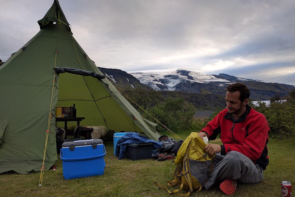 Camping at Thórsmörk