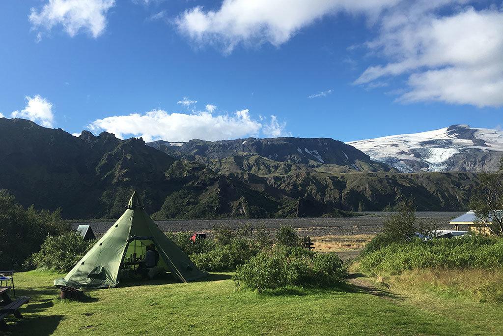 Thórsmörk camping