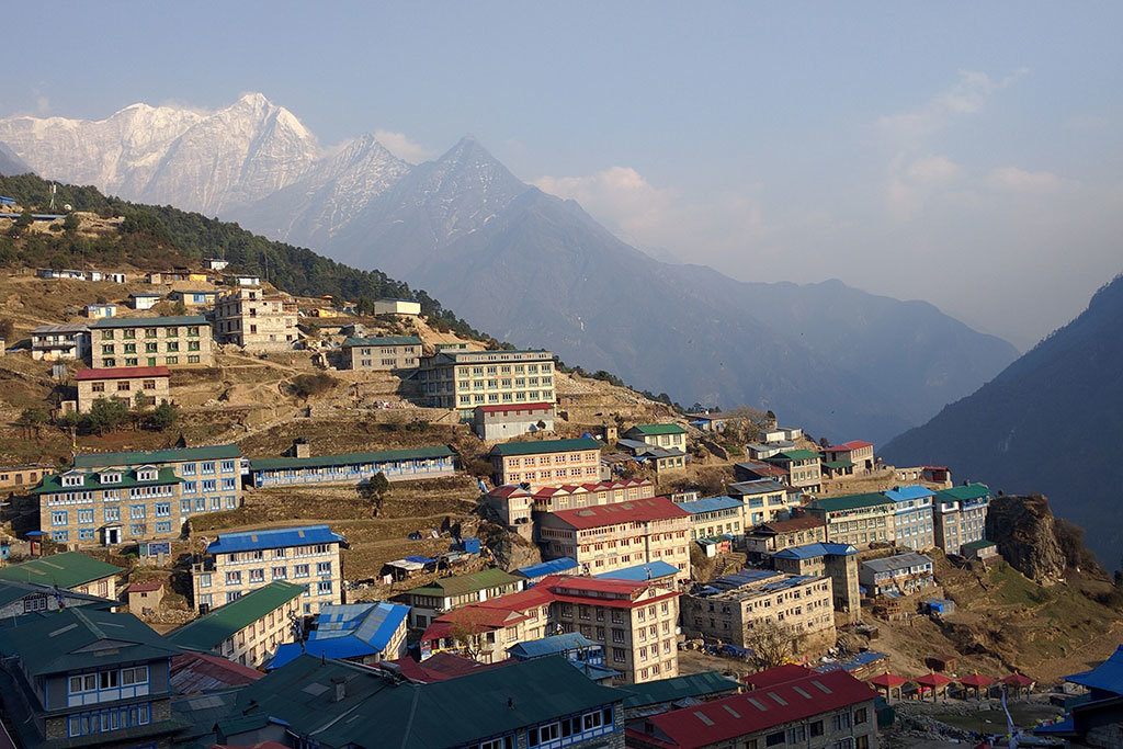 Teahouses at Namche Bazaar