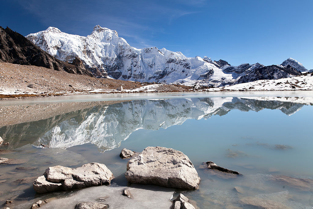 Gokyo valley lake