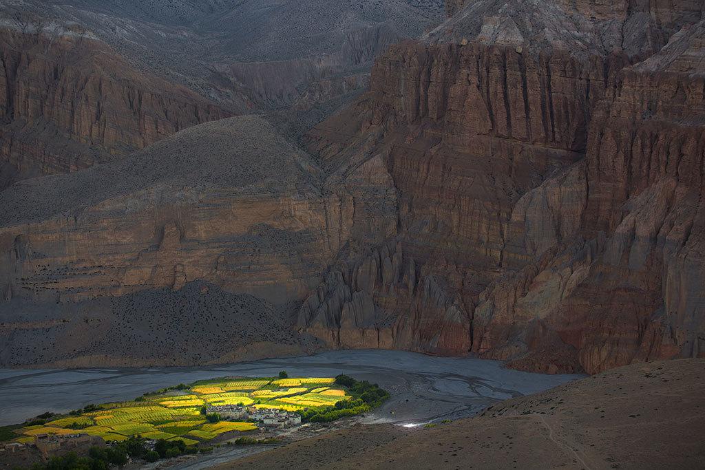 Chhuksang village (2980m)