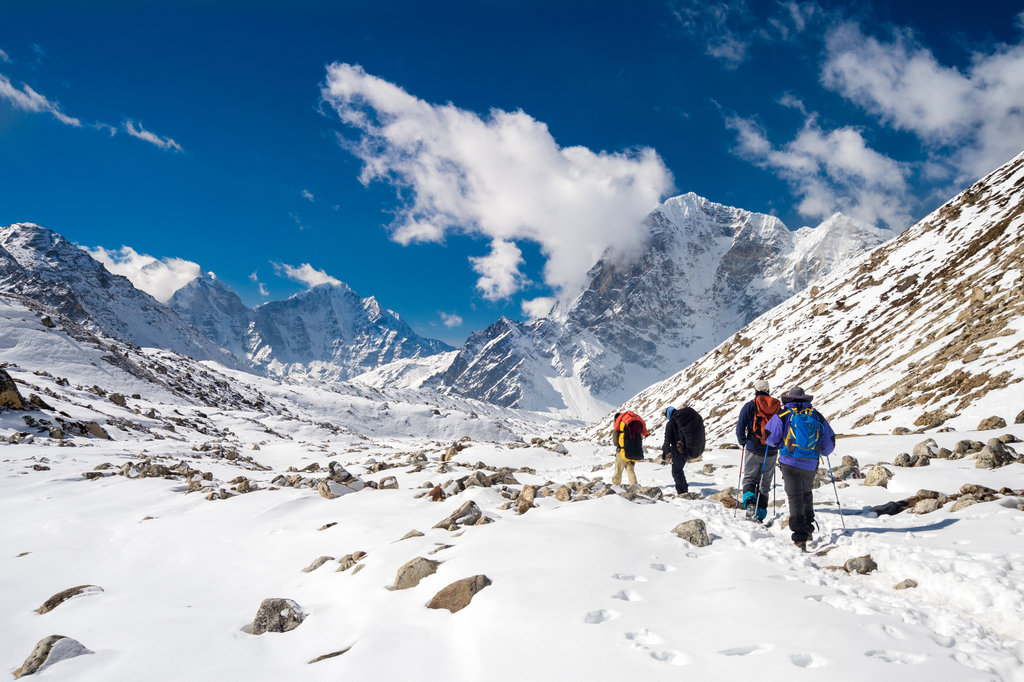 Winter in Nepal