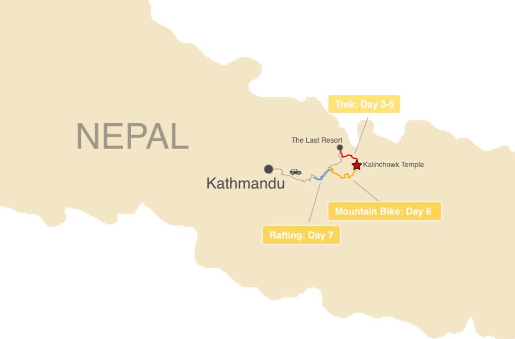 Kalinchowk Map
