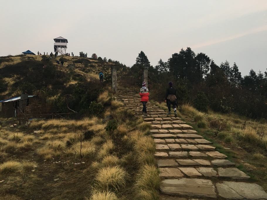 Stone Stairs Poon Hill