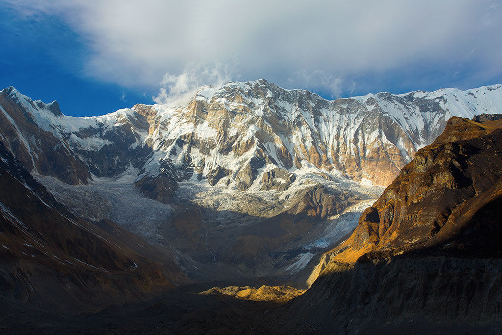 View of Annapurna Himal
