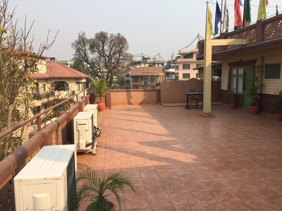 Shambaling rooftop