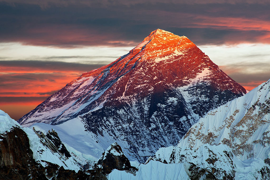 Mt. Everest, Nepal's iconic peak