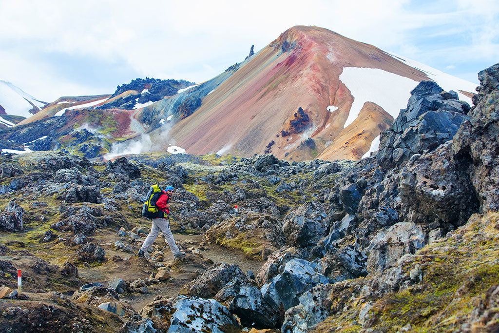 Discover volcanos in the Hekla Region