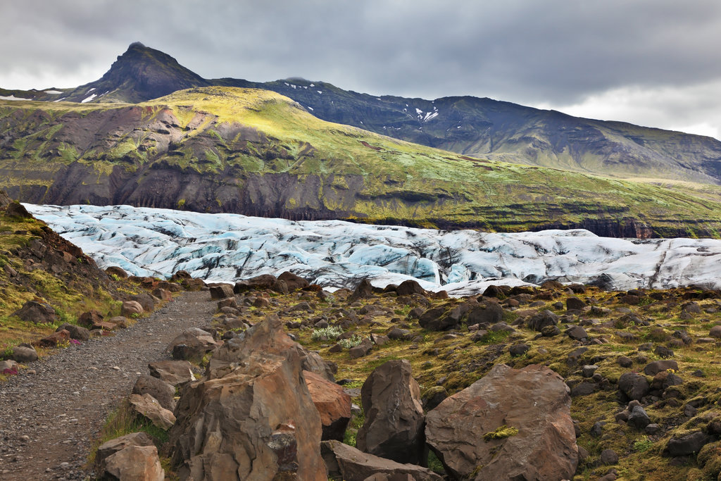 Hike or ice walk around Skaftafell National Park