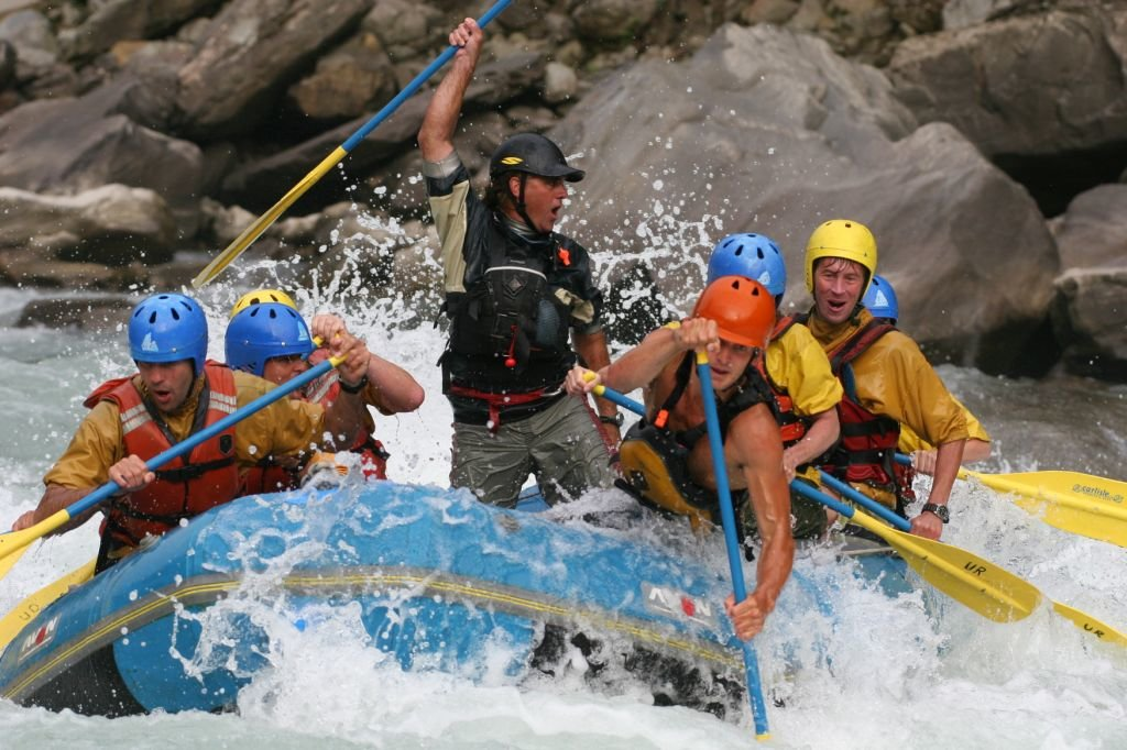 Rafting in the Bhote Kosi