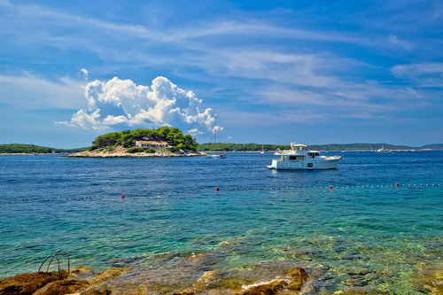 Day trip to Pakleni Islands from Hvar