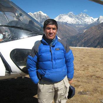 Travel operator Ngima Dorji Sherpa